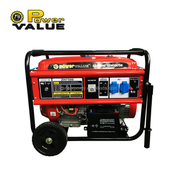 Competitive Price 6.5kw Silent Gasoline Generator 220V With 16HP Engine