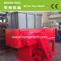 Industrial used single shaft shredder with long use life