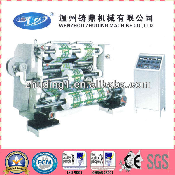 Standard plastic film slitting machine