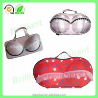 2015 Fashion bra case new design EVA case for bra, bra carrying bag