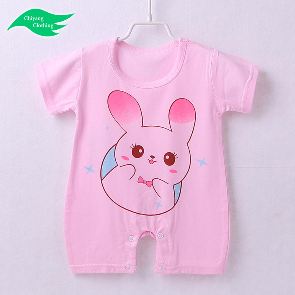 Newborn Infant Cotton Boys Girl Clothing baby romper jumpsuit