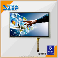 7'' 800*480 shenzhen production display with touch screen with control board