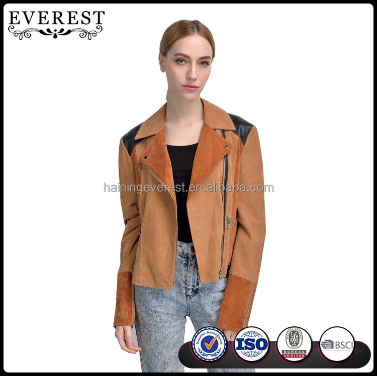 Casual Leather Jacket Suede Jacket Women Leather Jacket Women