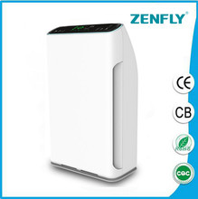 water based air purifier,Intellegent bed room air purifier HEPA home air cleaner
