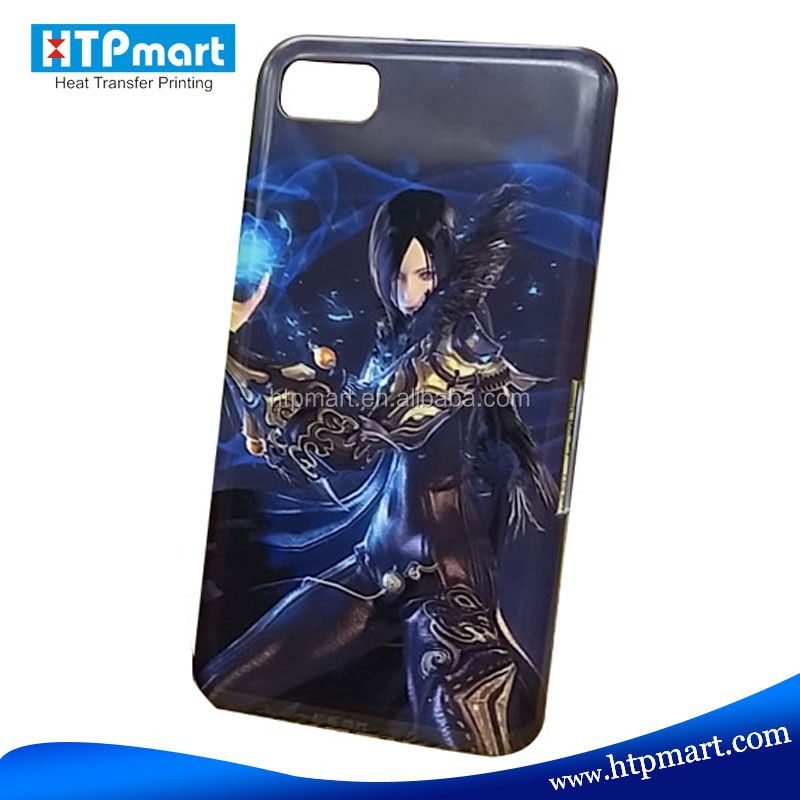 3D Sublimation Cell Phone Case for Blackberry Z10