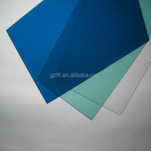 ge lexan green/ bronze /clear plastic 3mm thickness polycarbonate sheet price