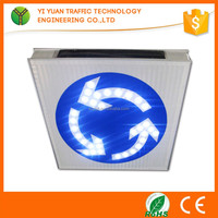 High quality lamp convenient installation waterproofing flashing led solar traffic sign