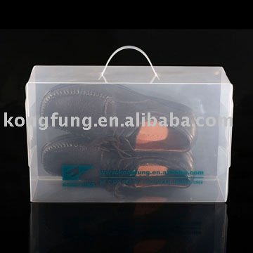transparent foldable pp cosmetic packaging box