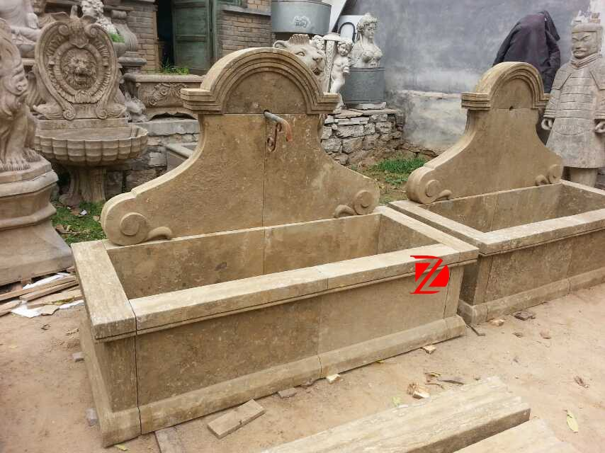 Popular Archaize Stone Fountain For Garden Decoration