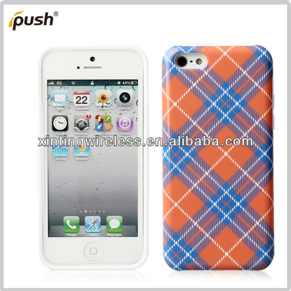 Simple Innovative Products Beautiful Design TPU Cell Phone Cover For Iphone 5c