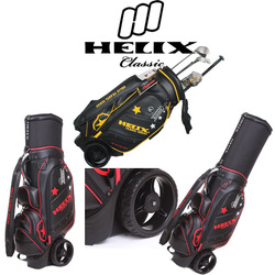 China alibaba factory helix golf bag with wheels / alibaba china helix golf bag factory d