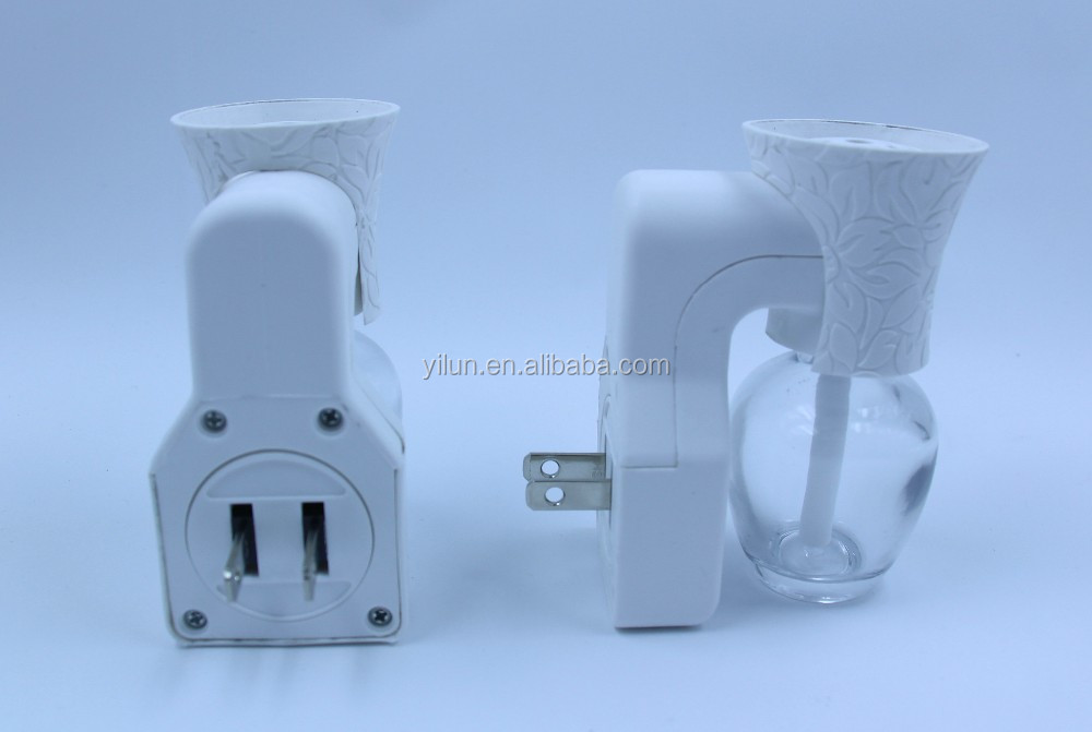 Home Glass Bottle 50HZ Toilet Urinal Electrical Air Deodorizer