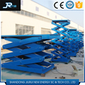 Safety and durable manual hydraulic fixed lift platform