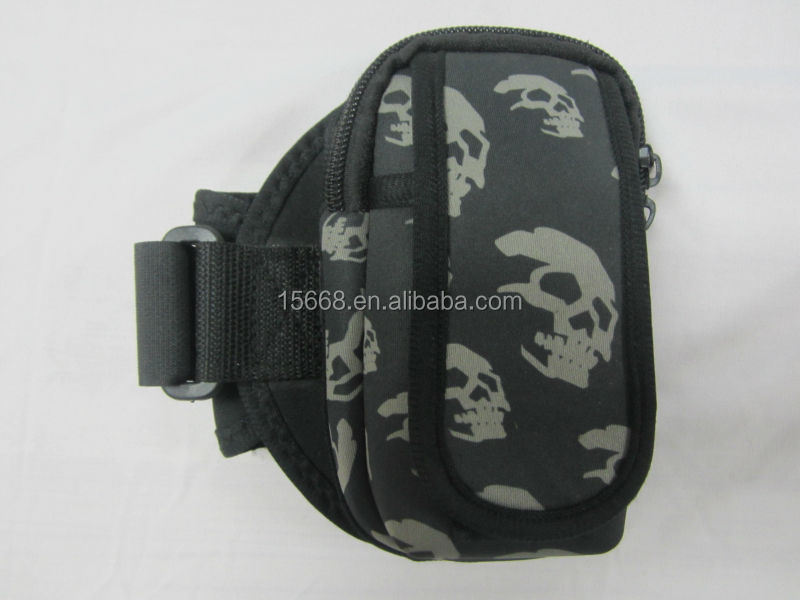 GR-P0064 popular armband neoprene cellphone case
