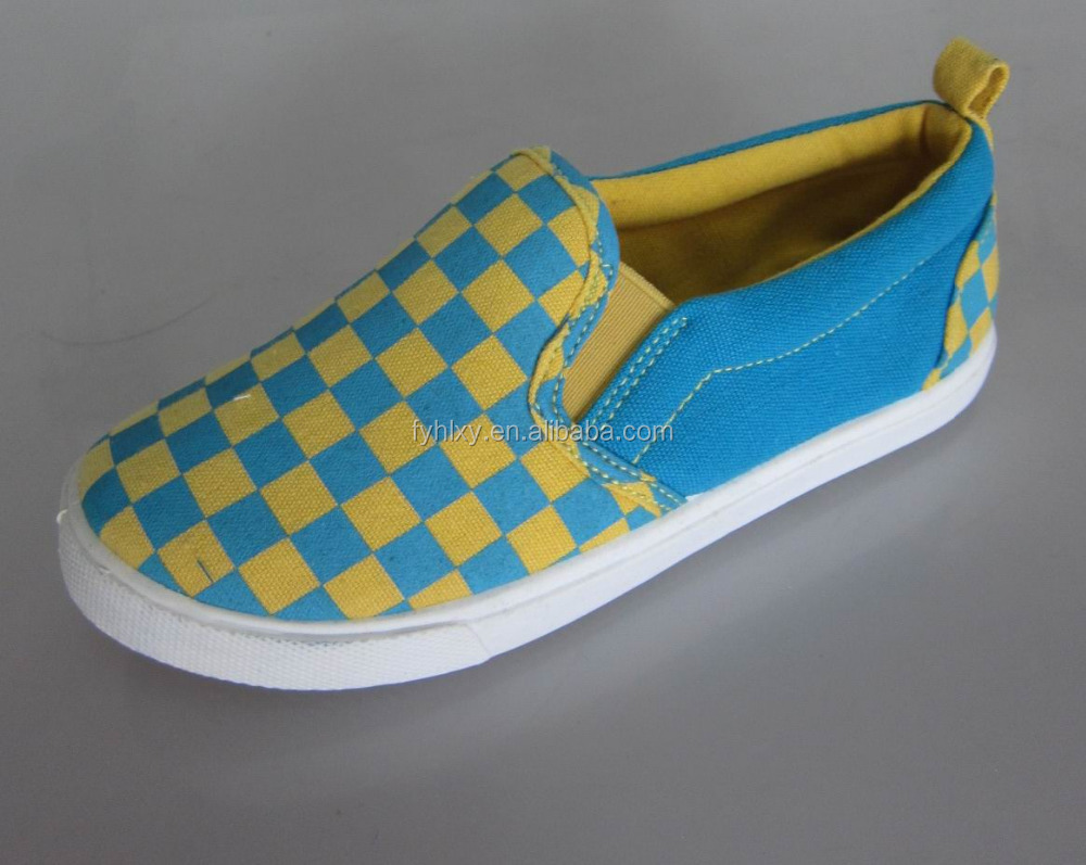 latest china attractive boys canvas shoes