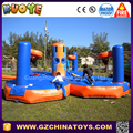 2017 alibaba golder supplier inflatable bungee run extreme challenge game