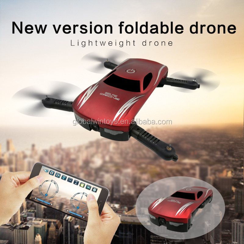 GW186 2017 new foldable mini pocket drone with hd camera control by smartpone voice controll as Chrismas gift vs jy018 low price).jpg