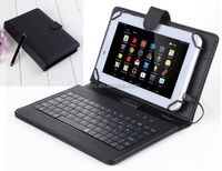 Brand New Universal Faux Leather Case Cover+USB Keyboard For 7 inch Android Tablet PC