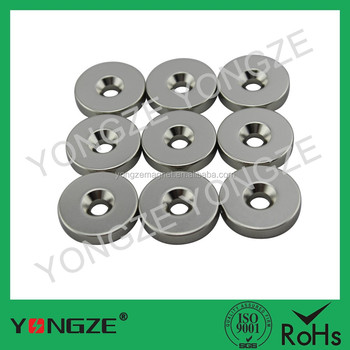 N35,N38,N40,N42,N45,N48,N50,N52 round magnets with holes,any size