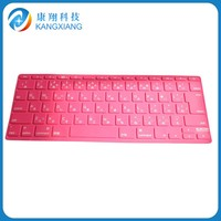 Colorful Transparent Silicone Keyboard Covers Custom