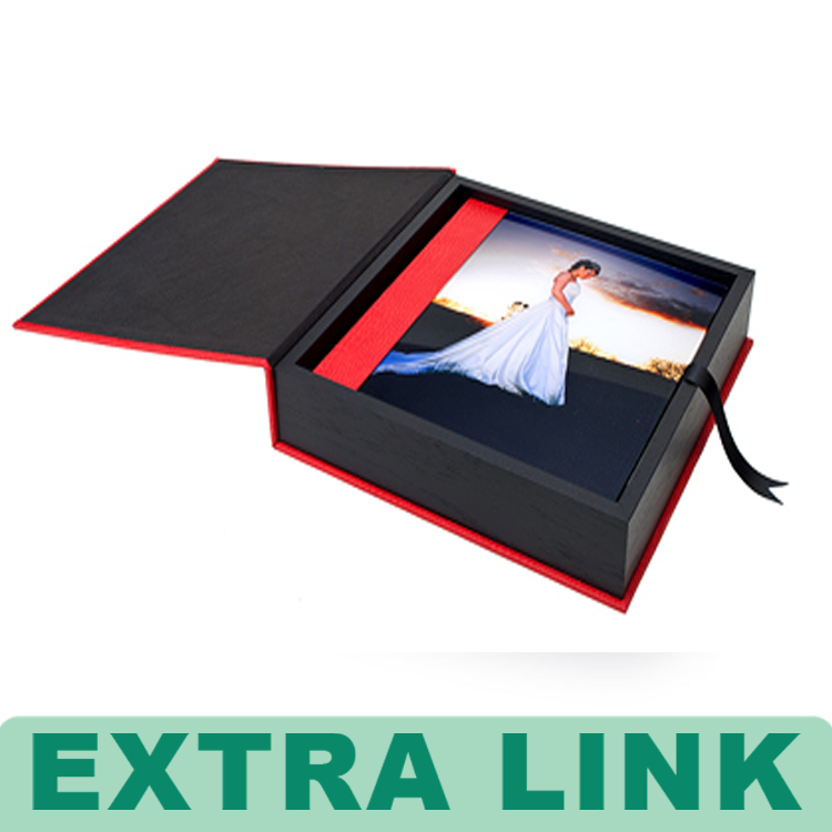 China Manufacturer Custom Photo Album Presentation Box