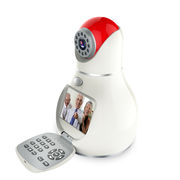 P2P Cloud Technology 3C 3G Smart Network Phone IP Camera