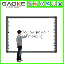 Electronic whiteboard dry erase board virtual whiteboard mobile interactive whiteboard cheap touch screen smart board China