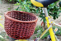 2016 New Wicker Bicycle Baskets Decoration Gifts Arts Willow Baskets Pet baskets
