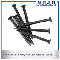 black color hardened steel concrete nail factory in linyi