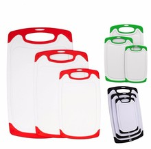 Plastic Chopping Board Nonslip Cutting Board Sets Kitchen Carving Boards