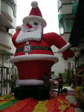 2014 hot sale Christmas decoration giant inflatable santa claus