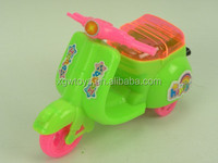 Cartoon Pull Line Toy Mini Motorcycle