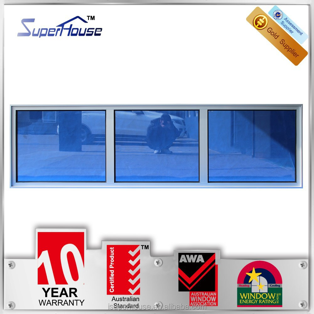 Small size fixed glass windows fixed panel window meet australia standard