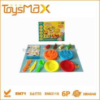Interesting Colorful Non-toxic Playdough for kids