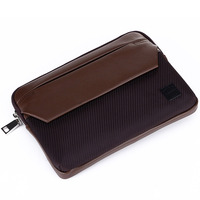 Leather briefcase for macbook pro/air notebook tablet PC sleeve for Apple pouch 13 inch laptop leather bag