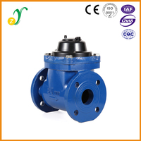 High pressure stable easy to use flange type intelligent gallon water meter malaysia supplier