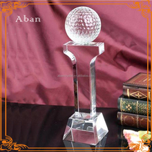 crystal golf ball,custom made golf ball trophy awards