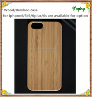mobile phone accessories Natural bamboo private label cases for iphone 5 6 plus
