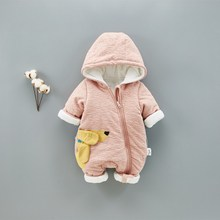 QD-29 new design high quality jumpsuit for babies one piece suit winter jumpsuit for kids