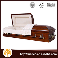 CLASSIC Cardboard Casket With Interior White Cardboard Coffin