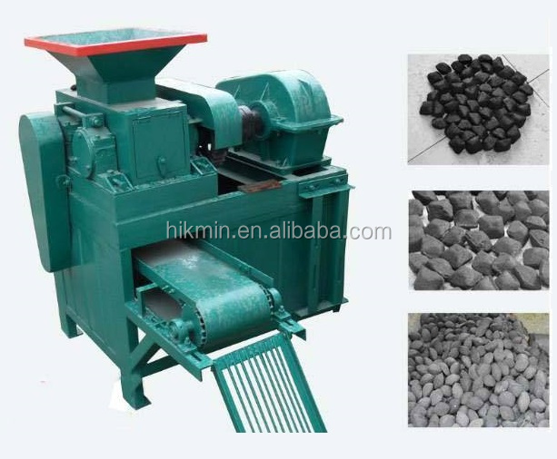 Charcoal carbon coal dust briquette press machine price