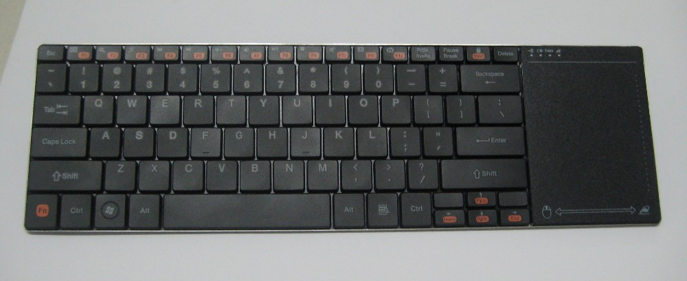 "DEVIZER DKB142 (10"") - Ultra Slim Wireless Keyboard with Touch Pad"