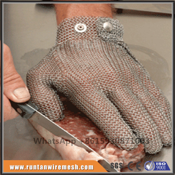 butcher Protect Stainless Steel Wire Safety Gloves
