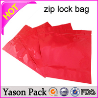 Yason plastic ziploc bags zip lock bags for food custom printing stand up zipper pouch