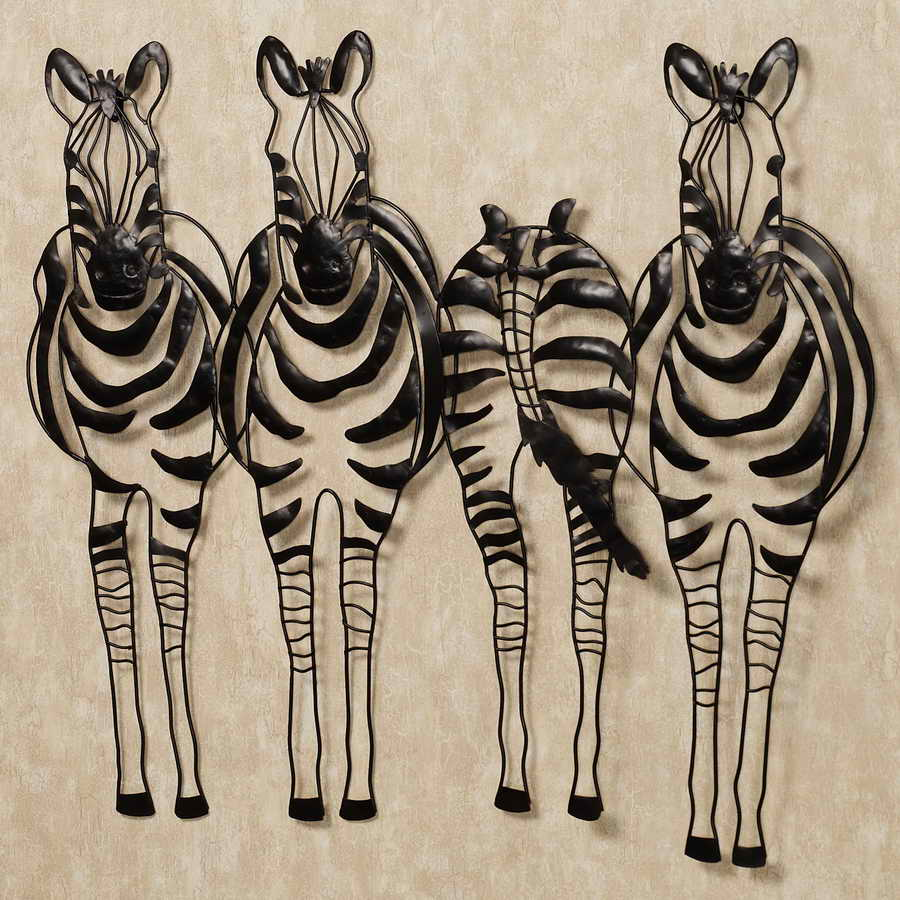 metal horse wall art decor,Zebra abstract art wall decoration crafts wholesale Hot Iron