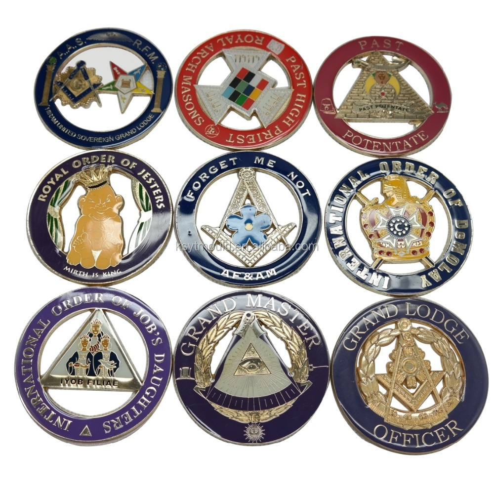 Wholesales Masonic Items,Hot Sale Mason Car Badge in Stock