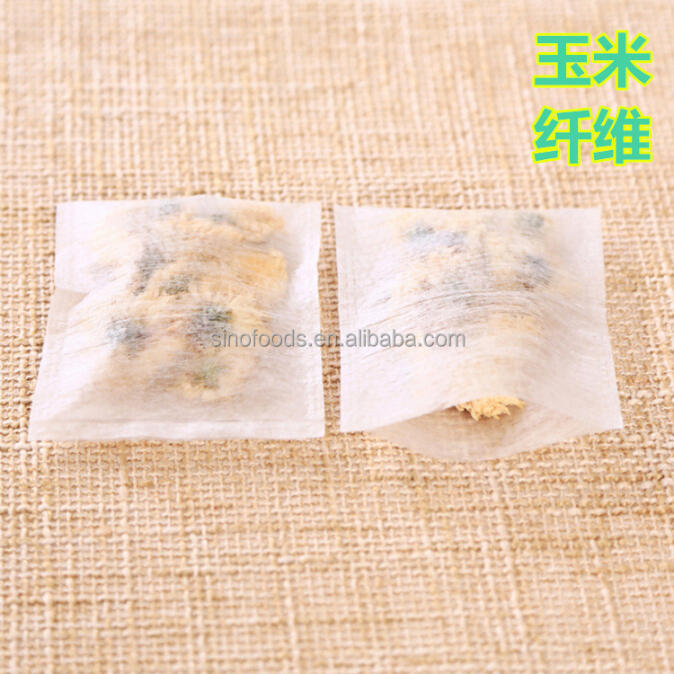 ACCEPT OEM 6.5*8cm Heat sealing OEM biodegradable tea bag <strong>material</strong>