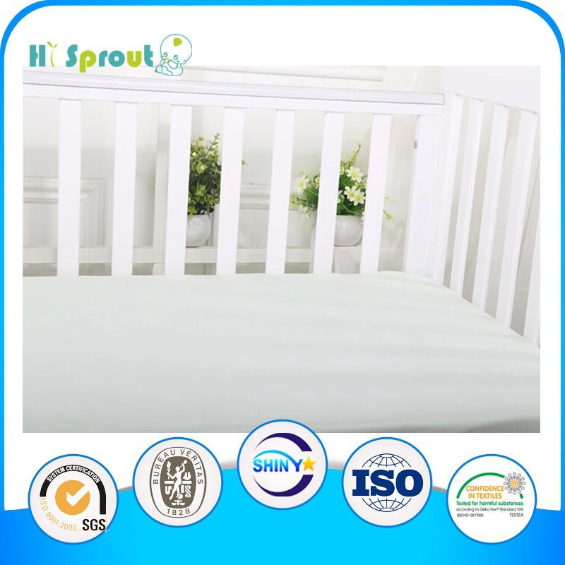 White 100% cotton Sheet for Protecting Mattress