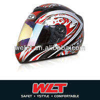 DOT helmet anti riot helmet with double visor