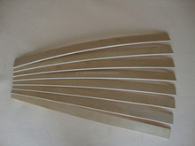 wood curved bed slats for indonesia market